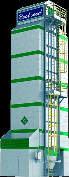 Secador de café vertical SMI 40